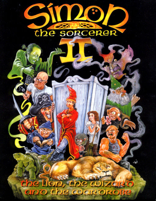 simon the sorcerer 2: front cover