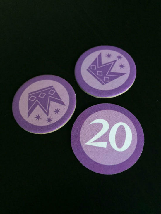 Machi Koro Purple Coins